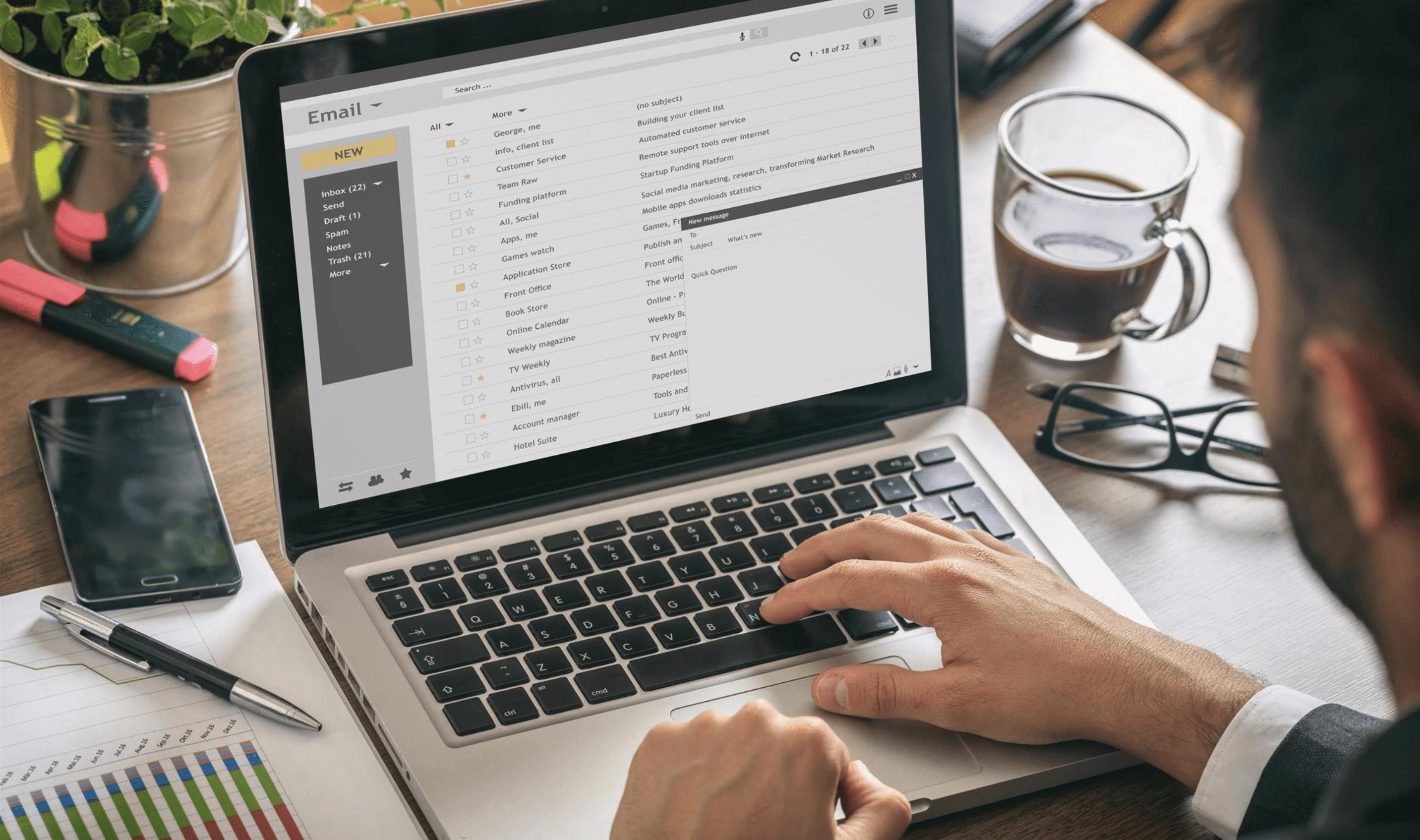 Rédiger un email de motivation
